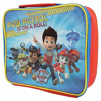 Spearmark Children Kids Paw Patrol Team Insulated Lunch Food Carry Bag