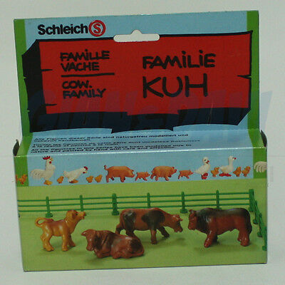 Schleich Farm 12770 Familie Kuh Cow Family in Box