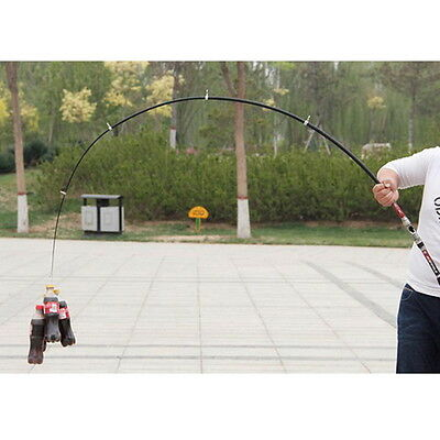 Professional Carbon Fiber Telescope Fishing Rod Travel Spinning Pole 2.1m