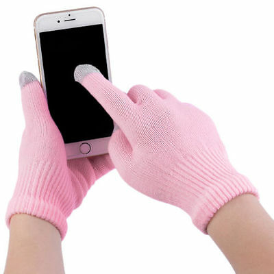 New Unisex Touch Screen Gloves Smartphone Texting Knit Stretch Winter Warm NK