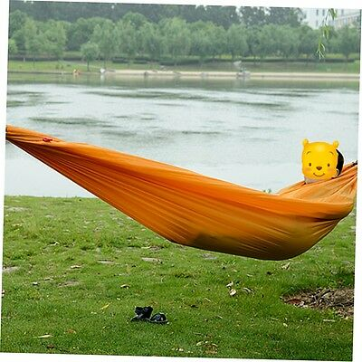 Portable Nylon Hammock Parachute Bed for 1 Person Travel Camping Outdoor NJ