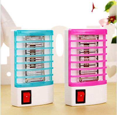 Hot LED Socket Electric Mosquito Fly Bug Insect Trap Night Lamp Killer Zapper