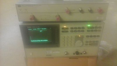 Agilent HP Keysight 3577B Network Analyzer 5Hz-200MHz W/ 35677A Test Set
