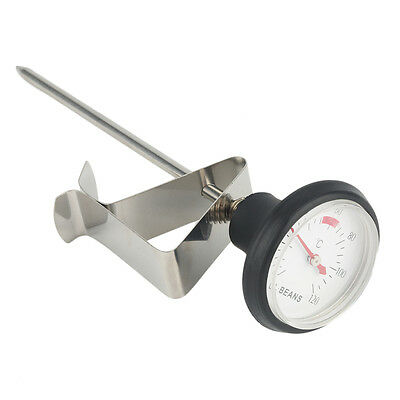 Stainless Steel Kitchen Espresso Coffee Milk Frothing Thermometer Craft NK