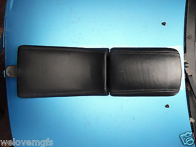MGF/MG TF Black Leather Armrest / Arm Rest
