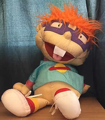 Rugrats Large 26 Inch Chuckie Finster Soft Toy By Play By Play