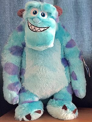 Disney Pixar Monsters Inc / University Large 20 Inch Sully Soft / Plush Toy Bnwt