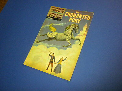 CLASSICS ILLUSTRATED JUNIOR #562 THE ENCHANTED PONY 1967 (HRN 576) no markings!