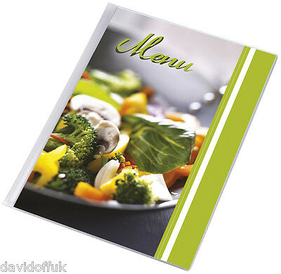 Menu Holder A4 Size Restaurant Pub Hotel Cattering Coffee Bar Shop Vegetables