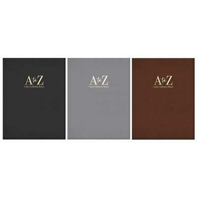 Tallon Midi Executive Padded A-Z index, Address Book Assorted colours