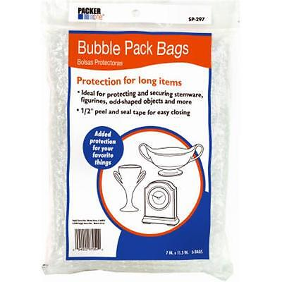 Schwarz Supply SP-297 7.25 x 11 in. Bubble Pack Bags 6 Pack, Small