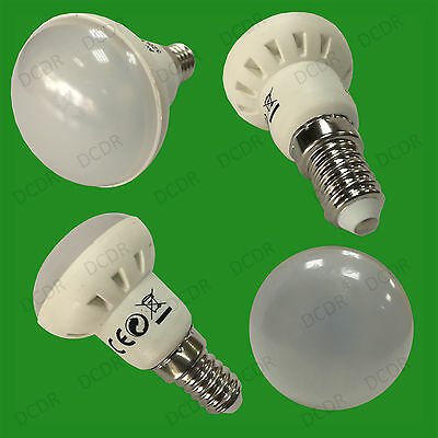 2x 4W (=30W) R39 LED Spot Light Bulbs Pearl Lamps SES E14 6500K Daylight White