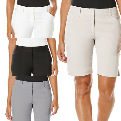 """Callaway Womens 19"""" Woven Golf Short - Multiple Colors Available - Brand New"""