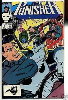 Punisher 1987 series # 3 near mint comic book