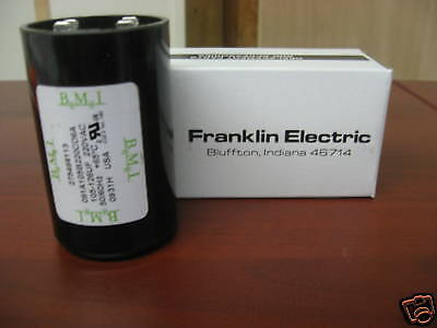 3/4 Hp Franklin Electric Control Box Start Capacitor