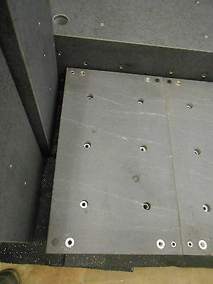 "15.75"" x 26.5"" x 6.75"" GRANITE BLOCK FOR ANTI-VIBRATION TABLE APPROX 270LBS"