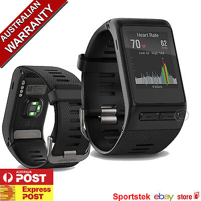 GARMIN VIVOACTIVE® HR GPS SMARTWATCH with WRIST BASED HEART RATE MONITOR