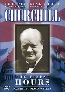 Churchill - The Finest Hours (NEW DVD)