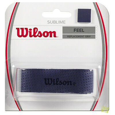 Wilson Griffband Replacement Grips Feel SUBLIME blau