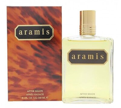 Aramis Aftershave 240Ml Splash - Men's For Him. New. Free Shipping