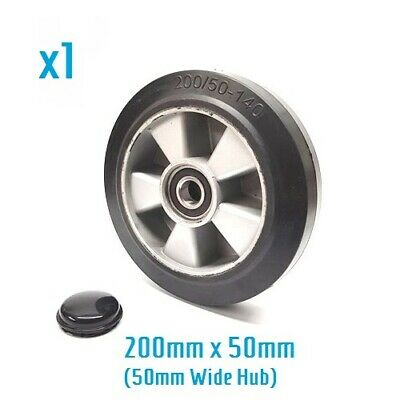 200/50 - 140 rubber steer wheel for Challenger BF hand pallet/ pump truck