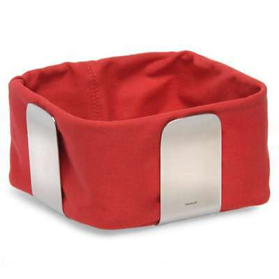 Blomus Soft Insert Small for Bread Basket Desa, Cotton, Red, 63470