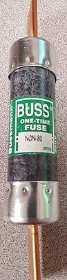 Bussmann NON-80 80 Amp One Time Cartridge Fuse NEW