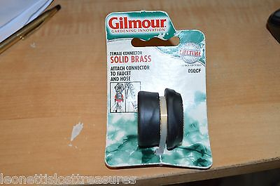 Gilmour Brass Female Hose End Connector 09QCF