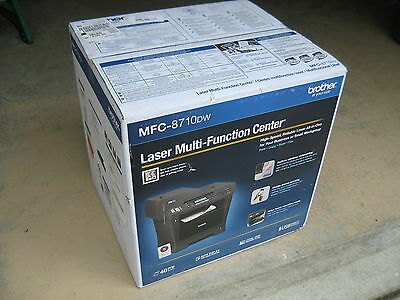 Brand New Brother MFC-8710DW Wireless Duplex B&W All-In-One Laser Printer Fax