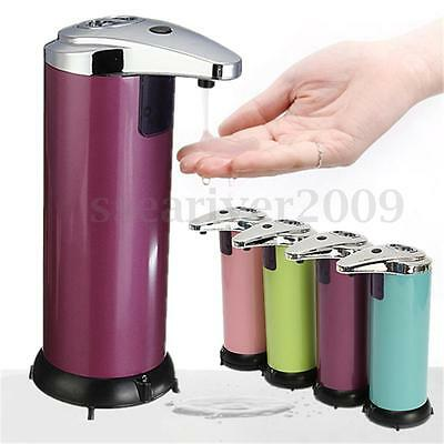 New Stainless Steel Handsfree Automatic Sensor Touchless Soap Liquid Dispenser