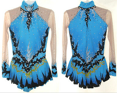 Rhythmic Gymnastics Leotard RG Acro/Ice skating dress Tap Costume Twirling Dance