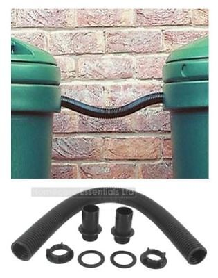 Water Butt Connector Pipe Link Kit - For Connecting Two Water Butts Together