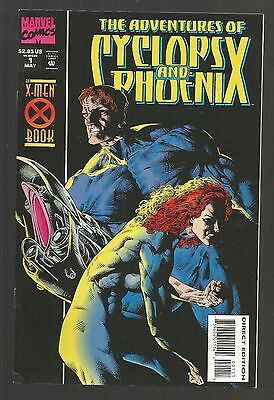 The Adventures of Cyclops and Phoenix #1 (May 1994, Marvel)g1