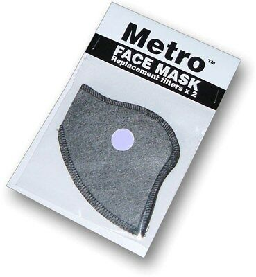 Respro Bike / Cycling Metro Mask Replacement Filters Pack Of 2