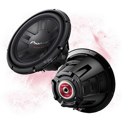 PIONEER TS-W311S4 - 30cm/300mm Auto Subwoofer Chassis - 1400 Watt MAX