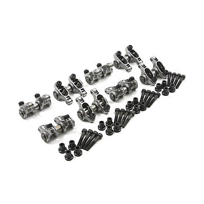 Chevy LS 1.9 Ratio Adjustable Stainless Steel Roller Rocker Arm Set