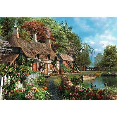 Cottage on a Lake 300 Piece Large Format Puzzle