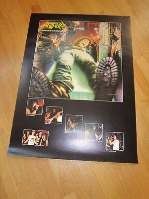 ANTHRAX Spreading the Disease poster