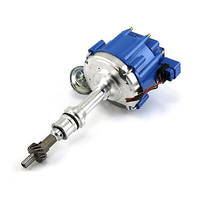 Ford 302 351C Cleveland 460 65K Coil HEI Electronic Distributor - Blue Cap