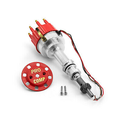 fits Ford 289 302 Windsor 8020 Series Pro Billet Ready to Run Distributor [Red]