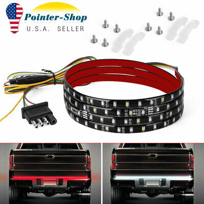 "60""/5ft LED Strip Tailgate Bar Brake Reverse Signal Tail Light for Pickup Truck"