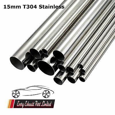 "15mm X 1.5mm Wall T304 Tube en Acier Inoxydable 500mm (20 "") Long Réparation de"
