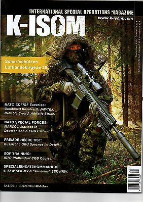 K-ISOM 5/2014 Internat. Special Operations Magazin d. Elite & Spezialeinheiten