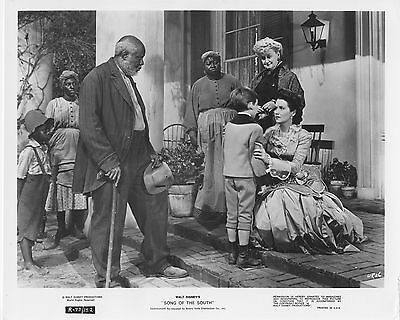 SONG OF THE SOUTH photo BOBBY DRISCOLL/UNCLE REMUS original DISNEY lobby still