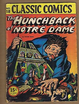 Classic Comics 18 (FRG) HRN 18/20 The Hunchback of Notre Dame (c#06174)
