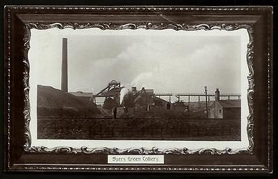 Byers Green near Bishop Auckland & Spennymoor. Colliery in Post Office Series.