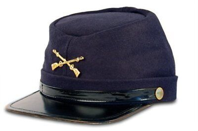 Federal Union Army Soldier Wool Hat Kepi Cap Costume Accessory Civil War