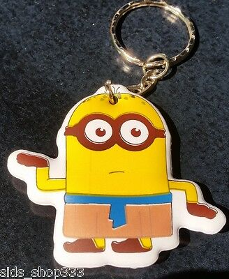 MINIONS ! Egyptian Minion Soft Keychain Key chain collectible DESPICABLE ME