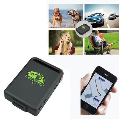 SPY Real-Time GSM GPRS GPS Tracker Car Vehicle Tracking System Device Pet TK102