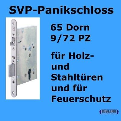 Panic lock 65 Bay lock 9/72 PZ SVP self locking 65 D